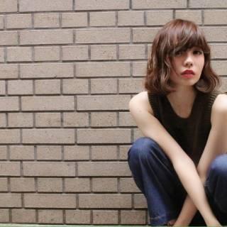 マルサラ ストリート パンク 大人かわいい ヘアスタイルや髪型の写真・画像