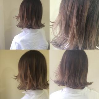 春 ボブ 外国人風 ストリート ヘアスタイルや髪型の写真・画像