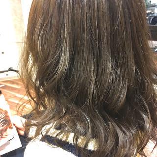 ミディアム 外国人風 ナチュラル 外国人風カラー ヘアスタイルや髪型の写真・画像
