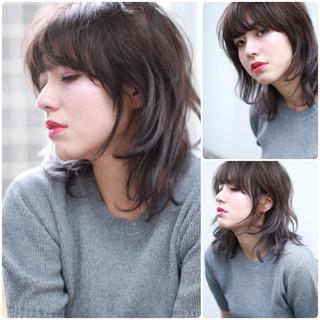 爽やか ウルフカット 外国人風カラー アンニュイ ヘアスタイルや髪型の写真・画像