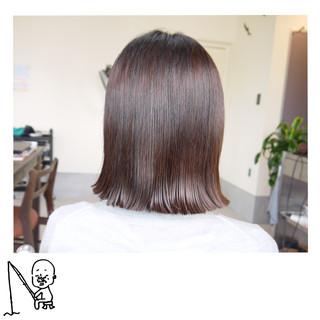 ストレート ワンレングス ナチュラル ボブ ヘアスタイルや髪型の写真・画像 ヘアスタイルや髪型の写真・画像