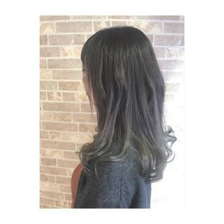 春 ナチュラル グラデーションカラー 透明感 ヘアスタイルや髪型の写真・画像