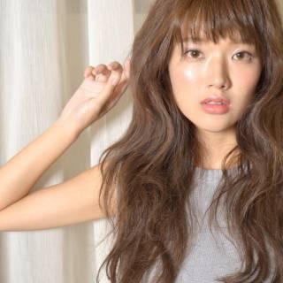 ガーリー 愛され ロング 大人かわいい ヘアスタイルや髪型の写真・画像 ヘアスタイルや髪型の写真・画像