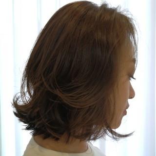 ヘアアレンジ ヘアカラー レイヤーカット ナチュラル ヘアスタイルや髪型の写真・画像