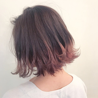 ハイライト ウェーブ 透明感 アンニュイ ヘアスタイルや髪型の写真・画像
