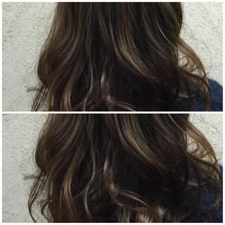 グレー 外国人風 ストリート モード ヘアスタイルや髪型の写真・画像