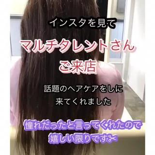 ロングヘア 艶髪 モデル ナチュラル ヘアスタイルや髪型の写真・画像 ヘアスタイルや髪型の写真・画像