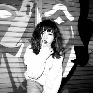 ストリート ウェットヘア パンク ウェーブ ヘアスタイルや髪型の写真・画像