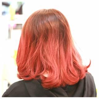 モテ髪 ガーリー 春 ピンク ヘアスタイルや髪型の写真・画像