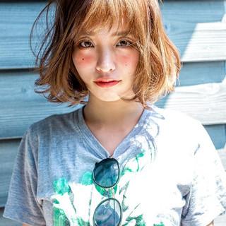 大人女子 ショートボブ ナチュラル 外ハネ ヘアスタイルや髪型の写真・画像 ヘアスタイルや髪型の写真・画像