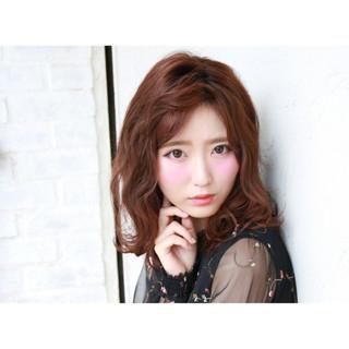 フェミニン かっこいい 暗髪 ボブ ヘアスタイルや髪型の写真・画像