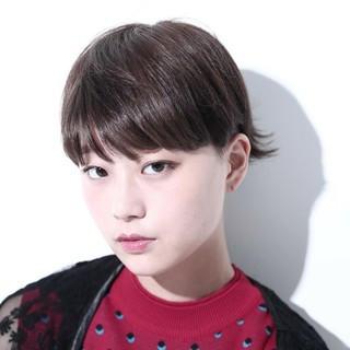 ショート ショートヘア ショートボブ エレガント ヘアスタイルや髪型の写真・画像