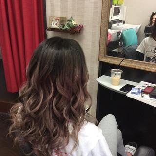 ダブルカラー ガーリー 外国人風カラー グラデーションカラー ヘアスタイルや髪型の写真・画像 ヘアスタイルや髪型の写真・画像