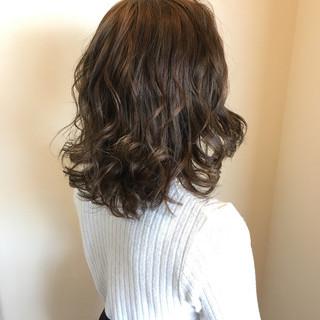 夏 モテ髪 ミディアム 外国人風カラー ヘアスタイルや髪型の写真・画像
