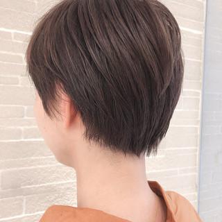 デート コンサバ ハンサムショート スポーツ ヘアスタイルや髪型の写真・画像