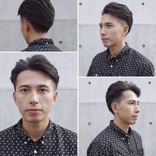 ツーブロック メンズ メンズショート ナチュラル ヘアスタイルや髪型の写真・画像