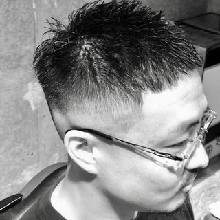 メンズヘア 刈り上げ メンズスタイル ショート ヘアスタイルや髪型の写真・画像