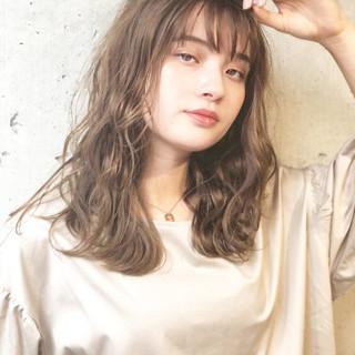 髪質改善 アディクシーカラー パーマ デート ヘアスタイルや髪型の写真・画像