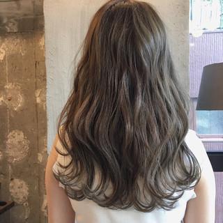 透明感 結婚式 ロング 女子会 ヘアスタイルや髪型の写真・画像