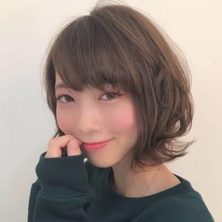 橋本萌さんのヘアスナップ