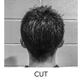 刈り上げ 黒髪 似合わせカット スポーツ ヘアスタイルや髪型の写真・画像 ヘアスタイルや髪型の写真・画像