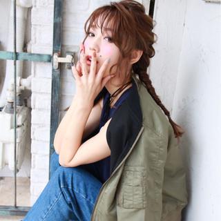 外国人風 ヘアアレンジ 簡単ヘアアレンジ 大人女子 ヘアスタイルや髪型の写真・画像