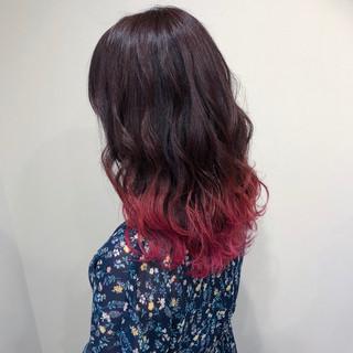 上品 ピンク 外国人風カラー エレガント ヘアスタイルや髪型の写真・画像 ヘアスタイルや髪型の写真・画像
