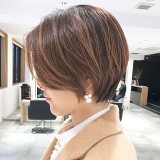 ヘアアレンジ スポーツ アウトドア ショート ヘアスタイルや髪型の写真・画像