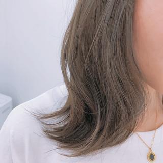 ブルージュ ナチュラル 透明感カラー ボブ ヘアスタイルや髪型の写真・画像