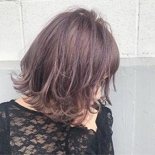 ハイライト アッシュ 冬 ガーリー ヘアスタイルや髪型の写真・画像