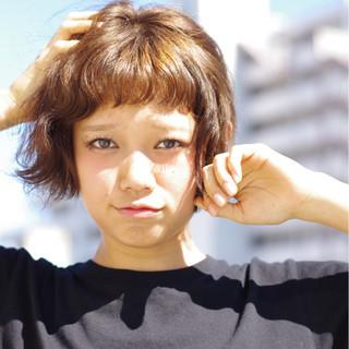 ショート ショートボブ パーマ ストリート ヘアスタイルや髪型の写真・画像