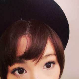ショート オン眉 ヘアアレンジ 簡単ヘアアレンジ ヘアスタイルや髪型の写真・画像 ヘアスタイルや髪型の写真・画像