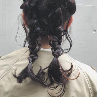 セミロング アンニュイほつれヘア ヘアアレンジ 結婚式 ヘアスタイルや髪型の写真・画像 ヘアスタイルや髪型の写真・画像
