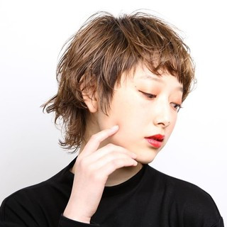ウルフカット 大人ヘアスタイル 阿藤俊也 モード ヘアスタイルや髪型の写真・画像