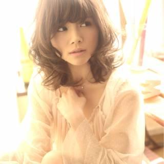 フェミニン 愛され 大人かわいい コンサバ ヘアスタイルや髪型の写真・画像