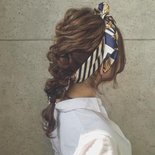 ヘアアレンジ 夏 モード かっこいい ヘアスタイルや髪型の写真・画像