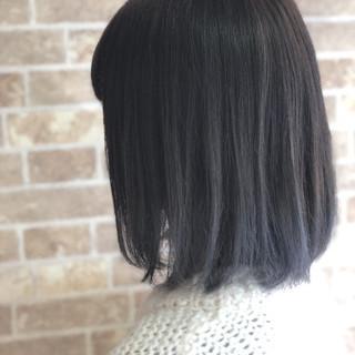 透明感 グラデーションカラー ナチュラル ボブ ヘアスタイルや髪型の写真・画像