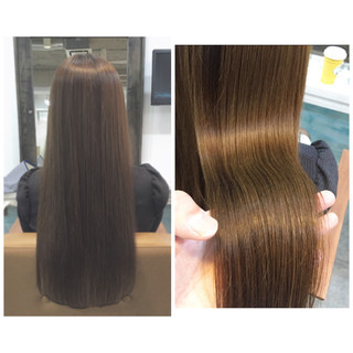 トリートメント 大人かわいい ロング 暗髪 ヘアスタイルや髪型の写真・画像 ヘアスタイルや髪型の写真・画像