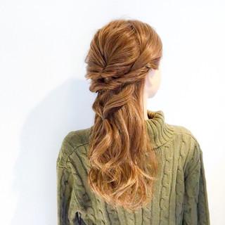 上品 簡単ヘアアレンジ オフィス デート ヘアスタイルや髪型の写真・画像