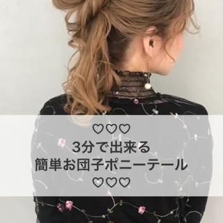 満丸香澄さんのヘアスナップ