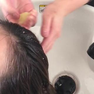 エレガント 髪質改善 ロング 最新トリートメント ヘアスタイルや髪型の写真・画像