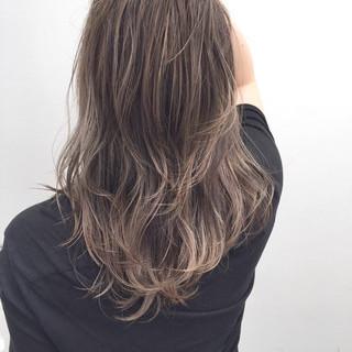 ハイライト 似合わせ ミディアム 外国人風 ヘアスタイルや髪型の写真・画像