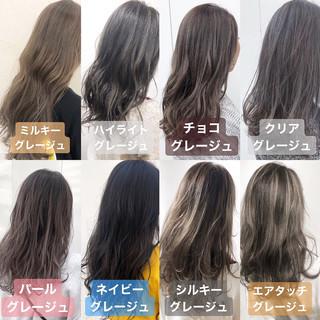 フェミニン ロング 巻き髪 グラデーションカラー ヘアスタイルや髪型の写真・画像