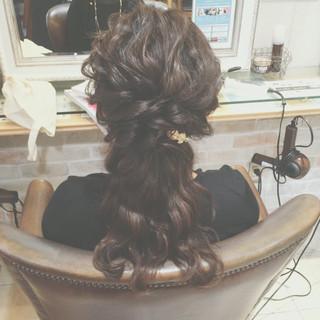 ヘアアレンジ ゆるふわ ショート 編み込み ヘアスタイルや髪型の写真・画像 ヘアスタイルや髪型の写真・画像