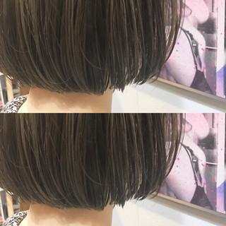 モード こなれ感 ボブ ニュアンス ヘアスタイルや髪型の写真・画像