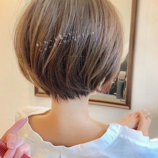 ショートボブの匠【 山内大成 】『i.hair』さんのヘアスナップ