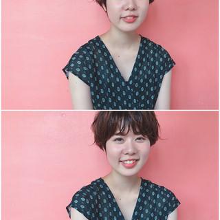 オフィス 女子会 デート アンニュイ ヘアスタイルや髪型の写真・画像