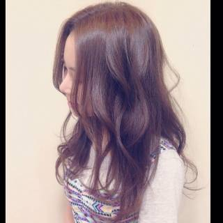卵型 コンサバ モテ髪 ロング ヘアスタイルや髪型の写真・画像