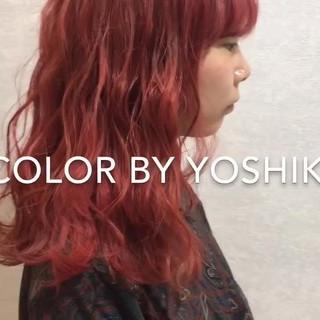 ハイライト ブリーチ インナーカラー ハイトーンカラー ヘアスタイルや髪型の写真・画像