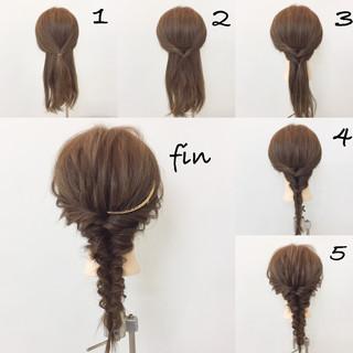 デート ミディアム 大人女子 簡単ヘアアレンジ ヘアスタイルや髪型の写真・画像